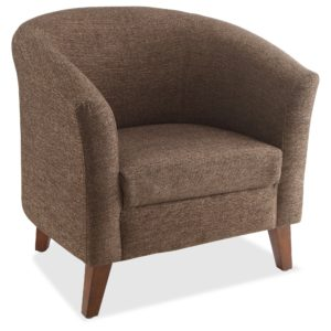 Lorell Armchair with Rounded Back