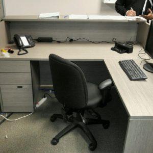 Project #1 - Reception Desk