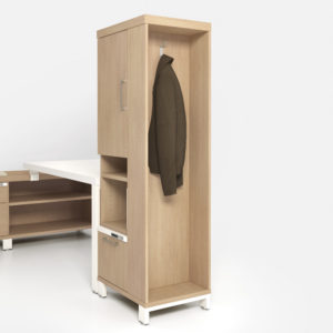 Storage with Wardrobe Hook