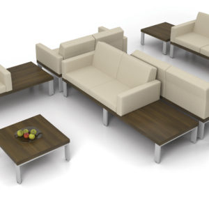 Lancelot Platform Seating with Side Tables