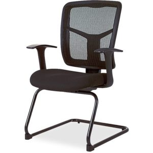 Lorell Ergonomic Mesh Guest Chair