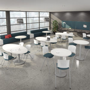 Lunchroom Space with Lounge Seating