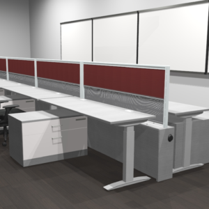 Project #8 - Height Adjustable Workstations with Electrical Supply